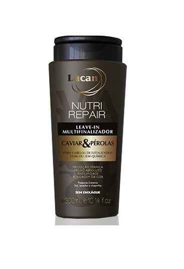 Lacan Nutri Repair Caviar e Pérolas - Leave-in Multifinalizador 300ml