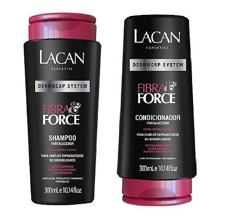 Lacan Fibra e Force - Kit Shampoo e Condicionador
