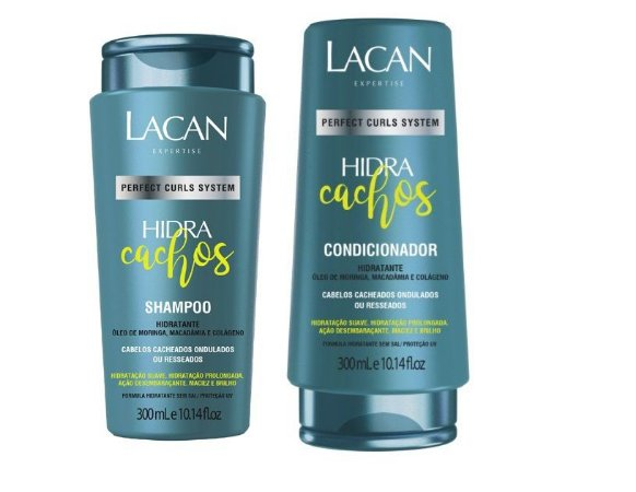 Lacan Hidra Cachos - Kit Shampoo e Condicionador