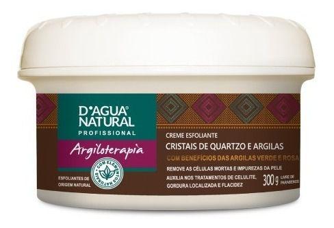 Dagua Natural Creme Esfoliante Cristais Quartzo e Argilas 300g
