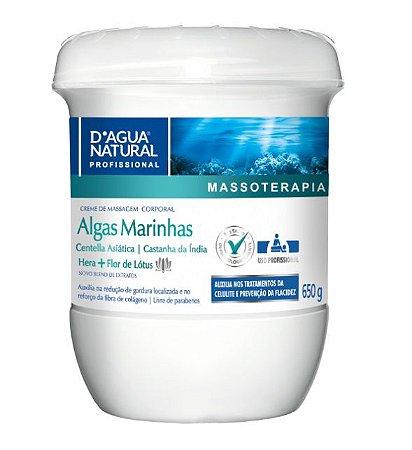 Dagua Natural Creme de Massagem Algas Marinhas 650g