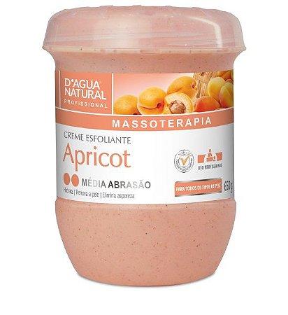 Dagua Natural Creme Esfoliante Média Abrasão Apricot 650g