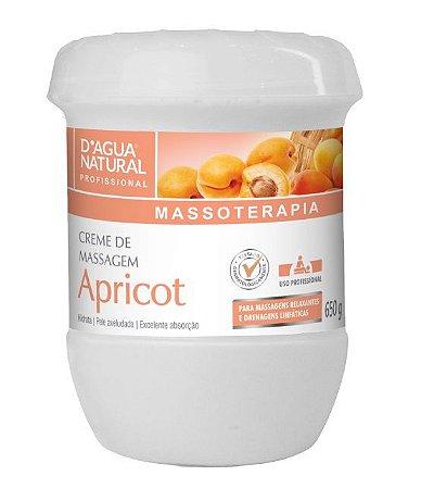 Dagua Natural Creme de Massagem Apricot 650g