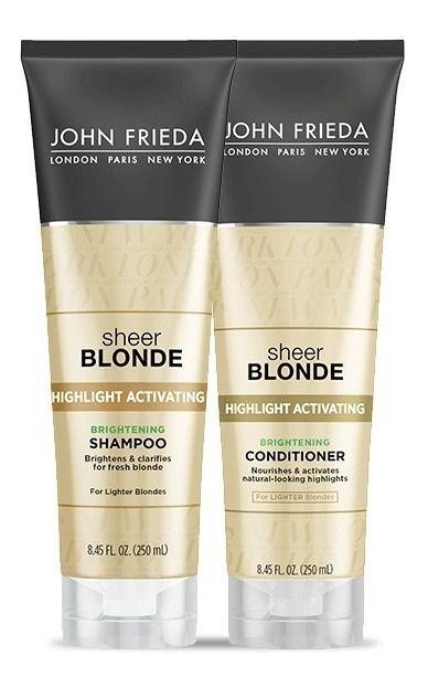 John Frieda Sheer Blonde - Highlight Activating Kit Shampo e Condicionador