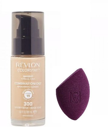 Revlon Base 300 + Esponja Flat Blend Mariana Saad by Oceane
