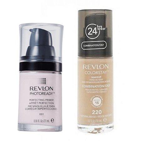 Revlon Base Colorstay 220 + Primer Photoready