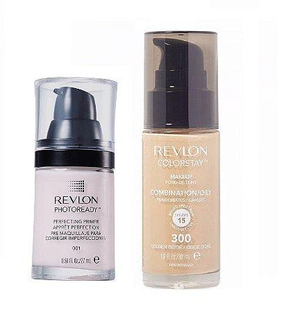 Revlon Base Colorstay 300 + Primer Photoready