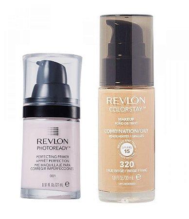 Revlon Base Colorstay 320 + Primer Photoready
