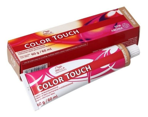 Wella Color Touch Tonalizante 7/0 Louro Médio 60g