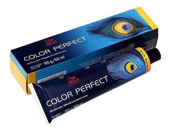Wella Color Perfect Tinta 6/1 Louro Escuro Acinzentado 60g