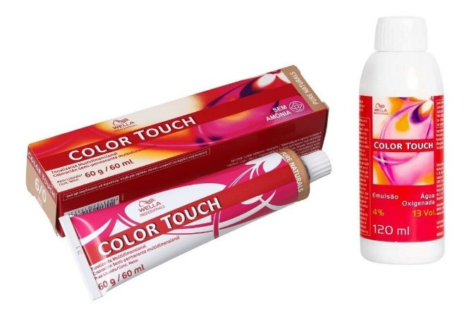Wella Color Touch Tonalizante 6/0 Louro Escuro + Emulsão 13vol