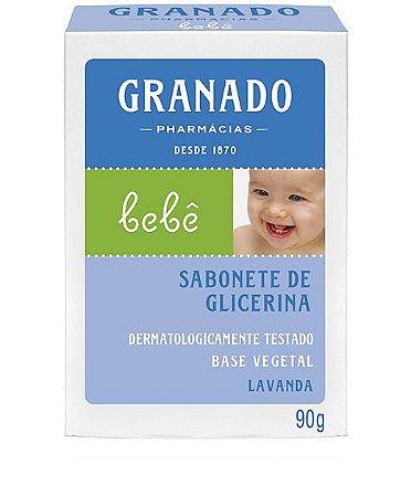 Granado Bebê Sabonete Barra Lavanda 90g