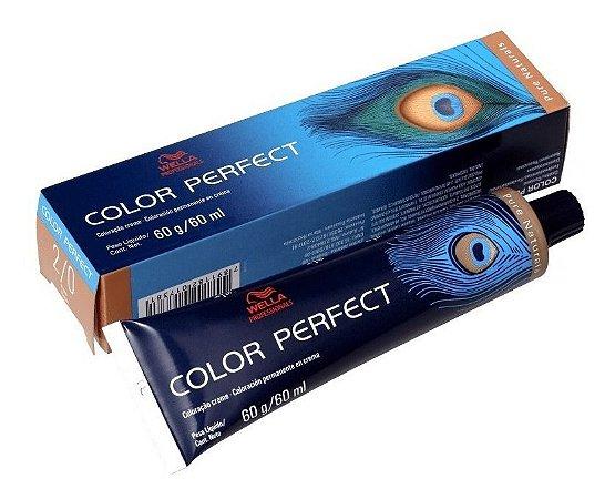 Wella Color Perfect Tinta 2/0 Preto 60g