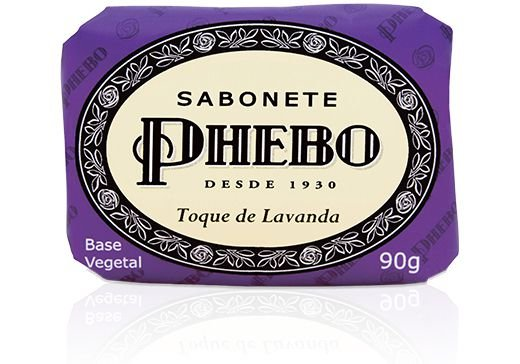 Phebo Sabonete Barra Toque de Lavanda 90g