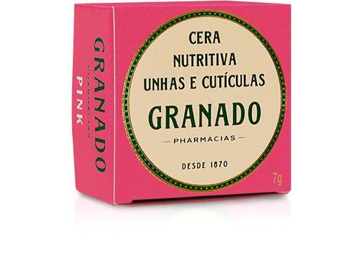 Granado Pink Cera Nutritiva Unhas e Cutículas 7g