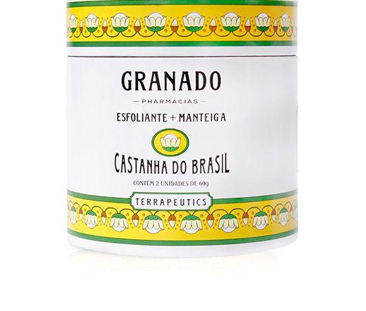 Granado Kit Esfoliante + Manteiga Castanha do Brasil 2x60g