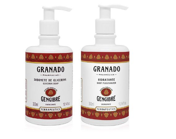 Granado Kit Gengibre Sabonete Líquido e Hidratante