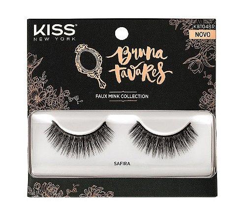 Kiss Cílios Postiços Bruna Tavares - Modelo Safira