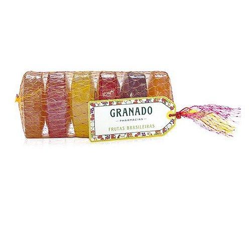 Granado Mix Frutas Brasileiras Sabonete Glicerina 6x90g