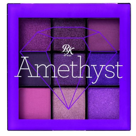 Kiss Paleta De Sombras 9 Cores - Amethyst