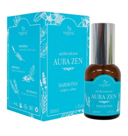 WNF Vegana Spray Aura Zen Harmonia Corpo e Alma 30ml