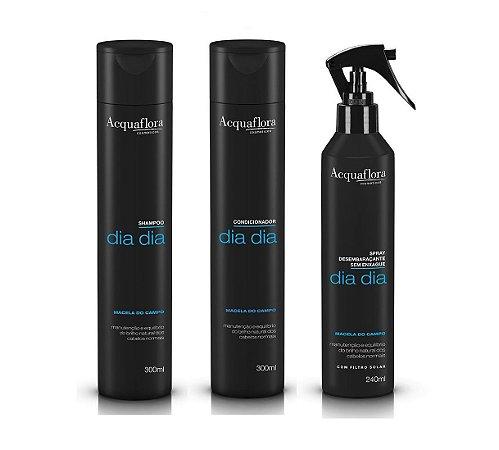 Acquaflora Dia Dia Kit Shampoo Condicionador e Spray