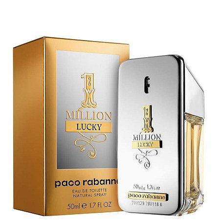 Perfume 1 Million Lucky Paco Rabanne Eau de Toilette 50ml