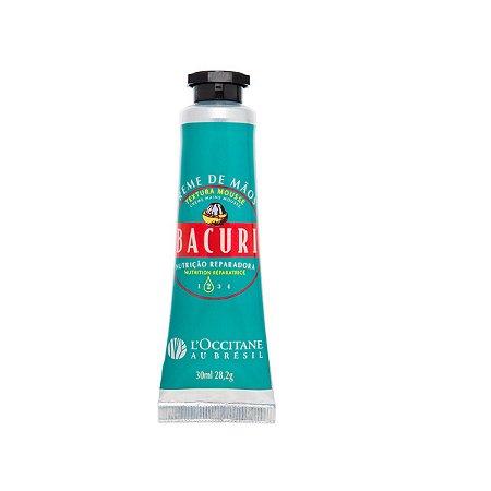 Loccitane au Bresil Creme de Mãos Textura Mousse Bacuri 30ml