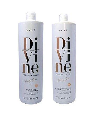 Braé Divine - Kit Shampoo e Condicionador 1000ml