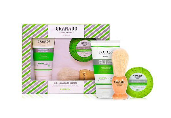 Granado Barbearia Kit Essenciais do Barbear