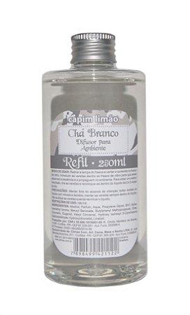 Capim Limão - Refil Difusor Chá Branco 250ml