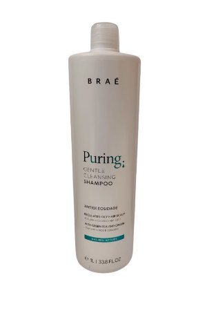 Braé Puring Gentle Cleansing - Shampoo Antioleosidade 1L