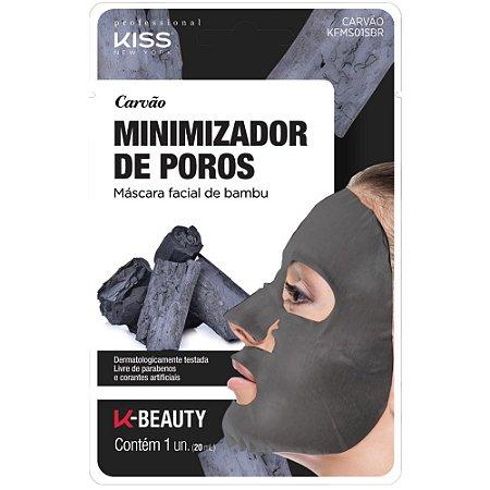 Kiss Máscara Facial de Bambu - Carvão