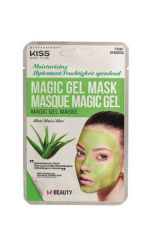 Kiss Máscara Facial em Gel Magic Gel - Aloe Vera Hidratante