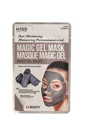 Kiss Máscara Facial em Gel Magic Gel - Carvão Minimiza Poros