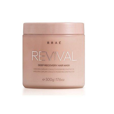Braé Revival - Máscara de Reconstrução de Impacto 500g
