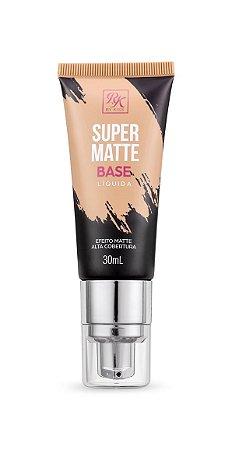 Kiss Base Líquida Super Matte 30ml - Cor Rosa