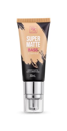 Kiss Base Líquida Super Matte 30ml - Cor Nude