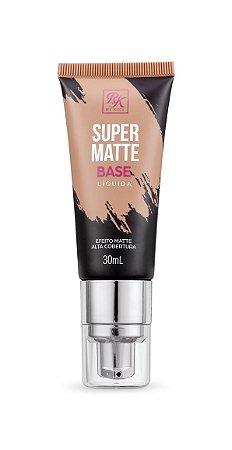 Kiss Base Líquida Super Matte 30ml - Cor Creme