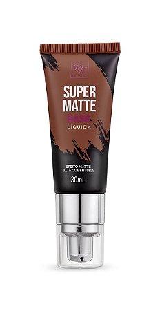 Kiss Base Líquida Super Matte 30ml - Cor Café