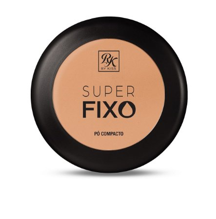 Pó Compacto Super Fixo Rk by Kiss - Cor Creme