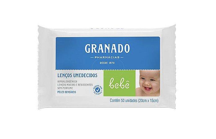 Granado Bebê Lenços Umedecidos Peles Sensíveis 50un