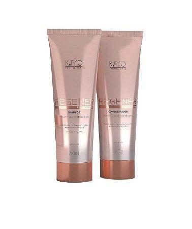 Kpro Regener K.A.P Complex  - Kit Shampoo e Condicionador K.A.P Complex