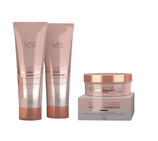 Kpro Regener K.A.P Complex - Kit Shampoo Condicionador e Máscara