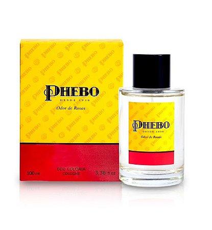 Phebo Deo Colônia Odor de Rosas 100ml