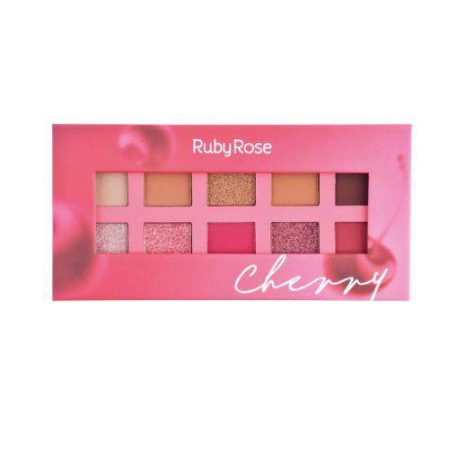 Ruby Rose Paleta de Sombras Essência Cherry