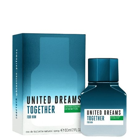 Perfume Benetton Together for Him 60ml Masculino