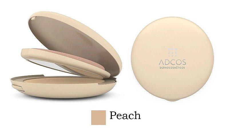 Adcos Pó Compacto com Ácido Hialurônico FPS50 11g - Cor Peach