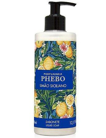 Phebo Sabonete Líquido Limão Siciliano 360ml