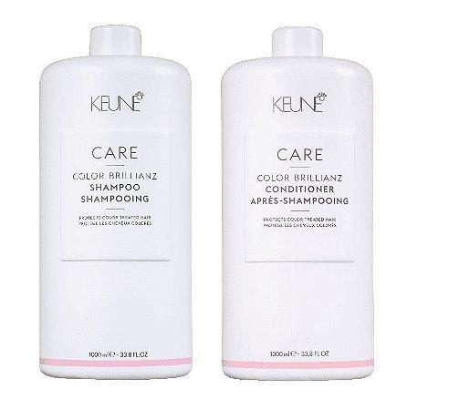 Keune Color Brillianz - Kit Shampoo e Condicionador 1000ml